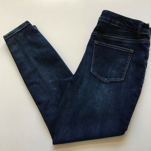 Maurices Super High Rise Skinny Jeans Button Fly